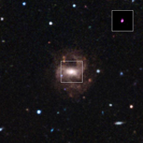 天文学家确定迄今为止最小的超大质量黑洞