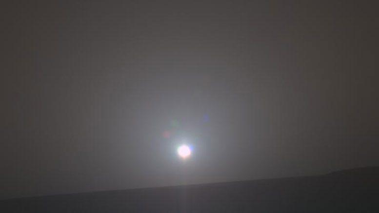 科学家们创造了火星日出的配乐