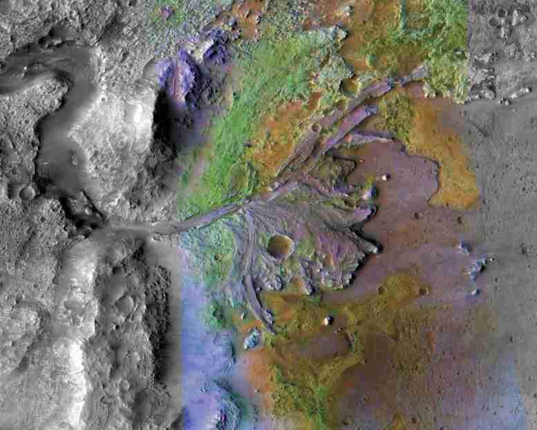 美国宇航局选择Mars 2020 Rover的Jezero Crater登陆网站