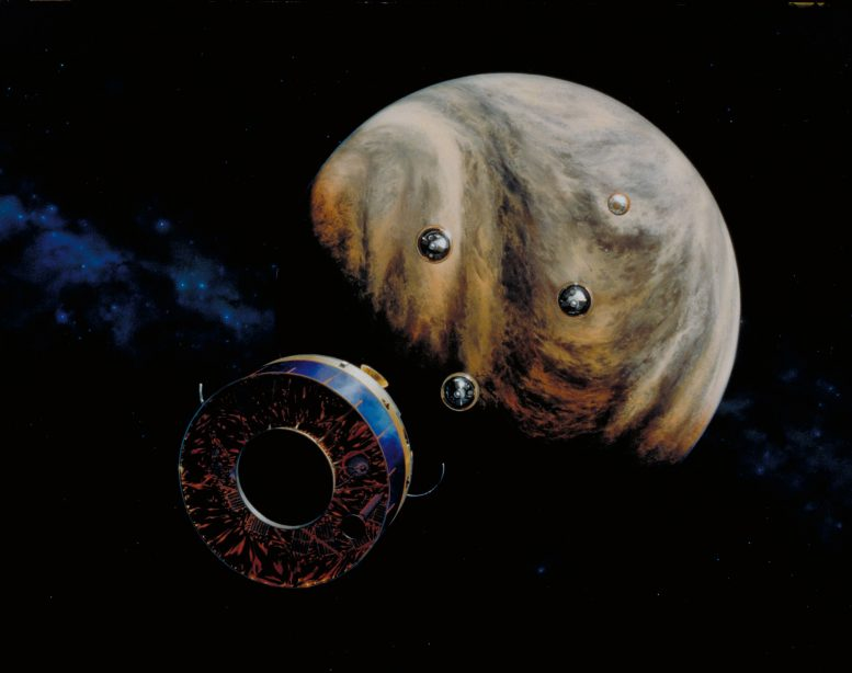 Pioneer Venus MultiProbe在40年前推出今天学习金星