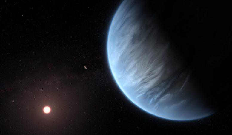 第一个时代NASA在超地球上找到水蒸气[视频]