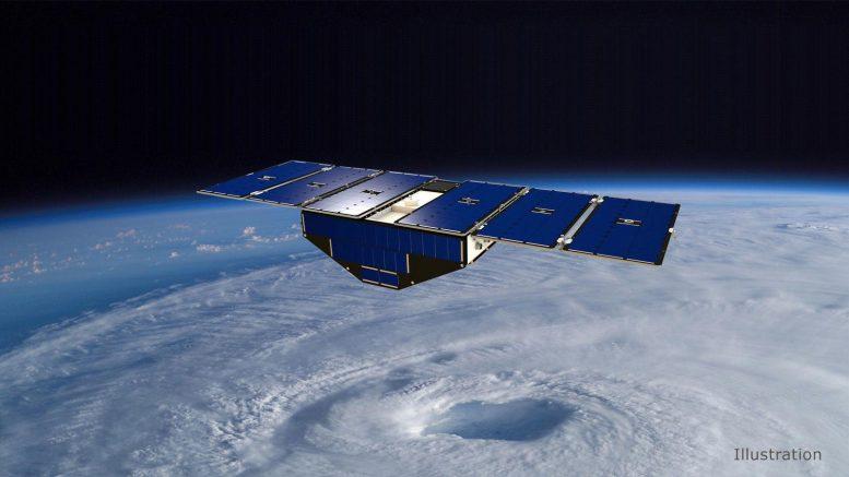 美国宇航局的Cyclone全球导航卫星系统辅助飓风预测