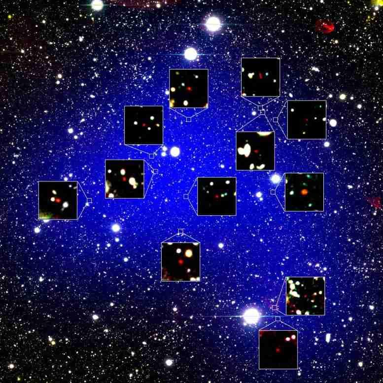 天文学家发现最古老的Galaxy Protocluster&IT有一个神话女王